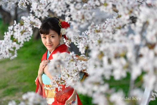 奈良 成人式 ロケフォト