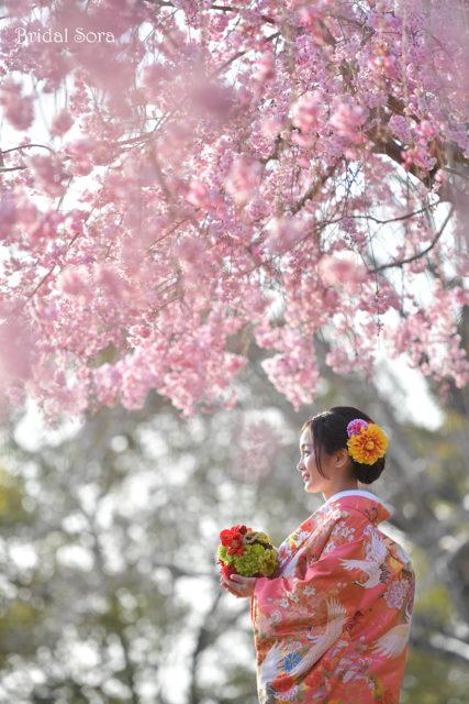 奈良 前撮り ロケーション撮影