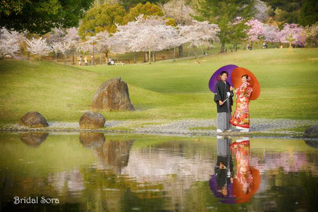 奈良 前撮り ロケーションフォト