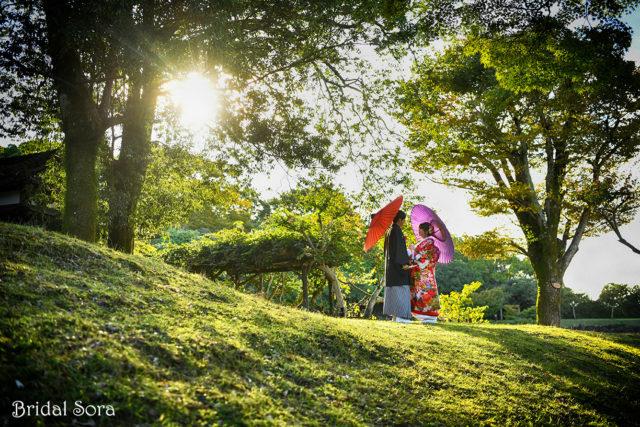 奈良公園 ロケーションフォト 前撮り