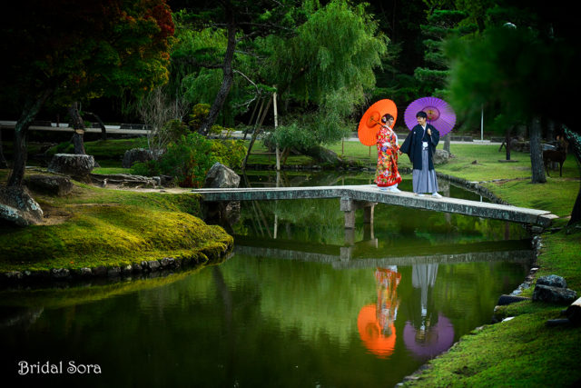 奈良 前撮り 庭園