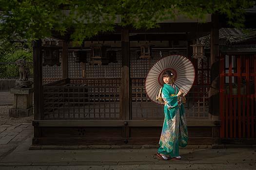 奈良 成人式 ロケーションフォト