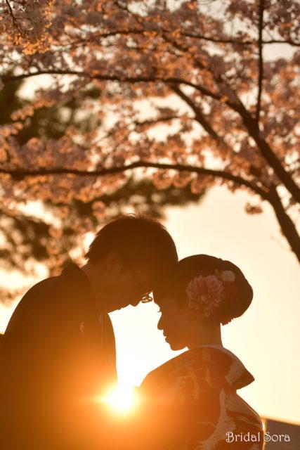 奈良 前撮り サンセット