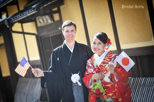 奈良町 ロケーション撮影 結婚式