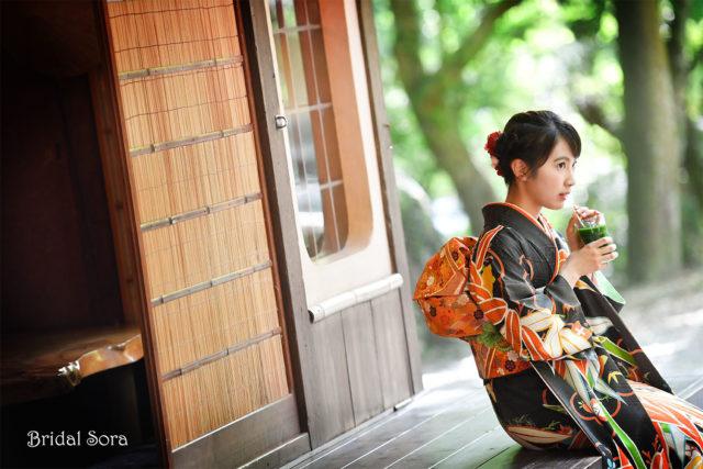 奈良 成人式 ロケーション撮影