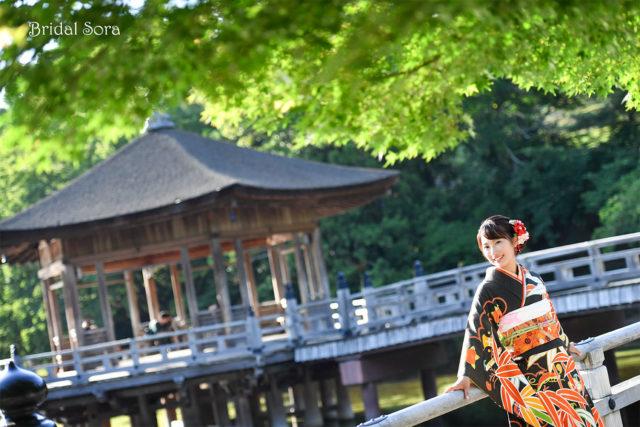 成人式 奈良公園 前撮り