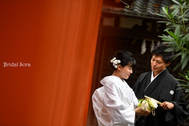 奈良公園 神社 ロケーションフォト