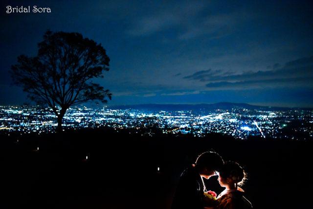 若草山 夜景 前撮り