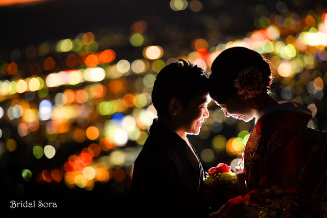 奈良 夜景 前撮り