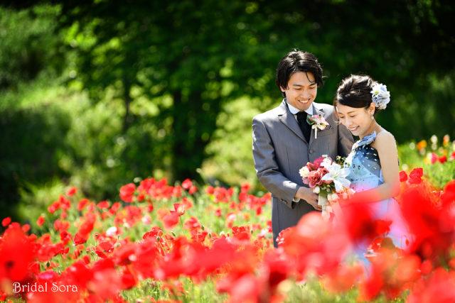 奈良 カラードレス 前撮り