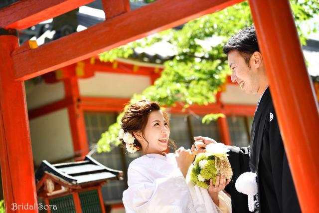 奈良 神宮 前撮り