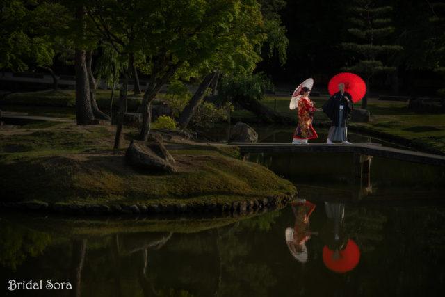 奈良 写真だけの結婚式 ロケーションフォト